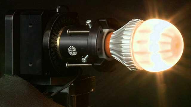 An LED light