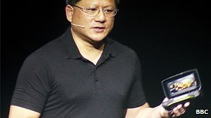 Nvidia chief executive Jen-Hsun Huang