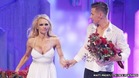 Pamela Anderson and Matt Evers