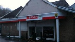 Spar shop in Burnley