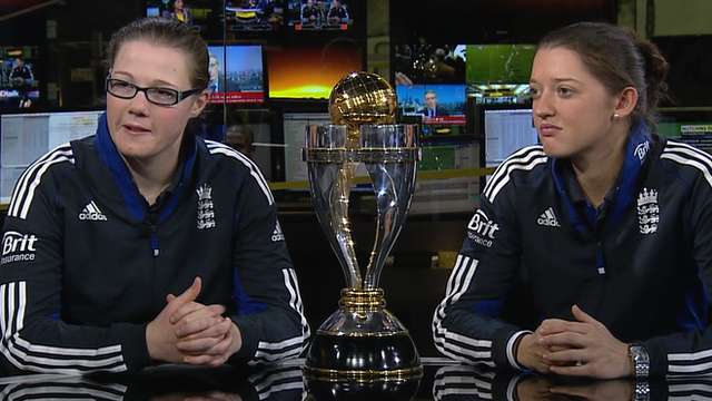 Anya Shrubsole and Sarah Taylor
