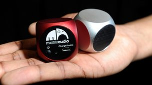 Matrix Qube pocket speakers from Matrix Audio