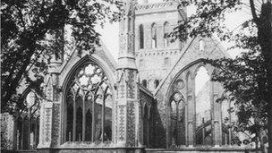 Bombed St Nicholas