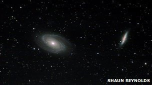 Image of galaxies from Stargazing live amateur photography flickr group