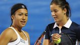 Heather Watson and Laura Robson