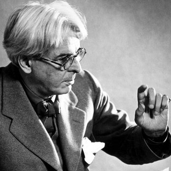 WB Yeats at the BBC in 1937