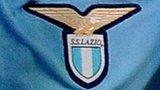 Lazio badge on player's shirt