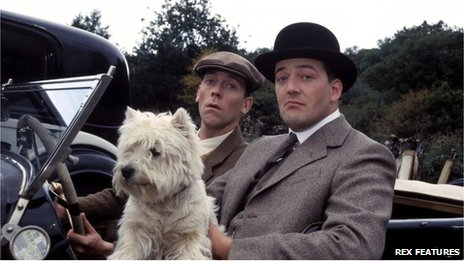 Bertie Wooster and Jeeves