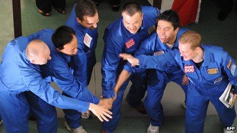 Mars 500 crew