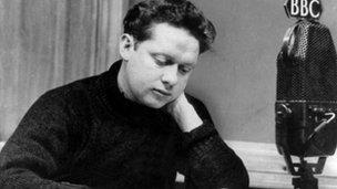 Dylan Thomas, 1948