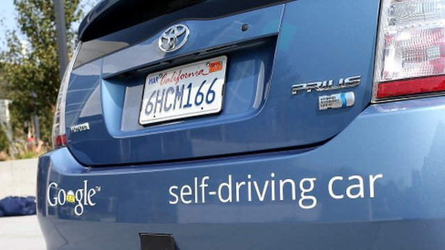 Toyota&#039;s self driving car
