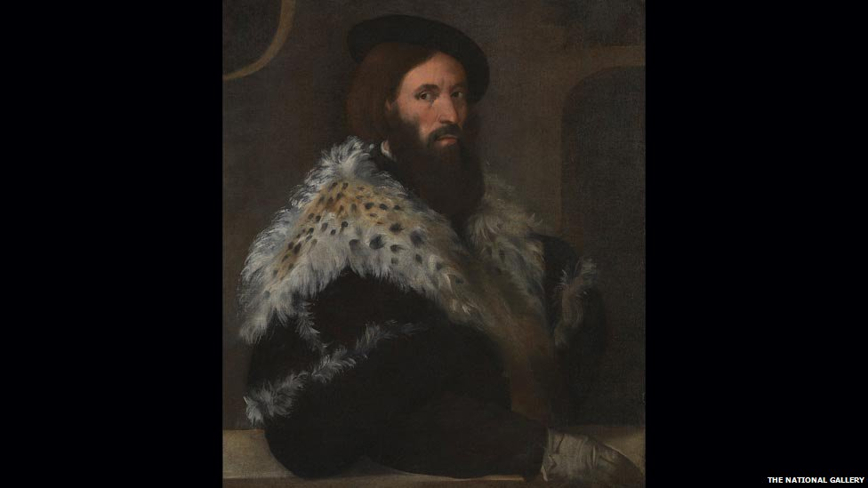 Portrait of a Man (Girolamo Fracastoro), attributed to Titian