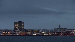Reykjavik skyline