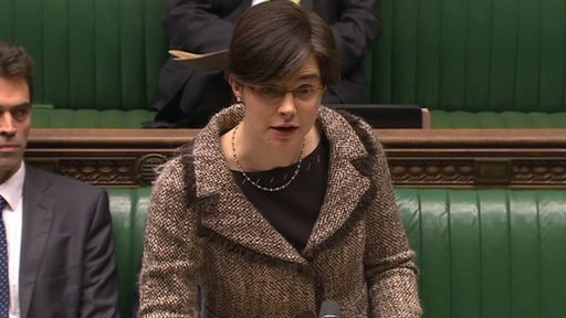 Constitutional Reform Minister Chloe Smith