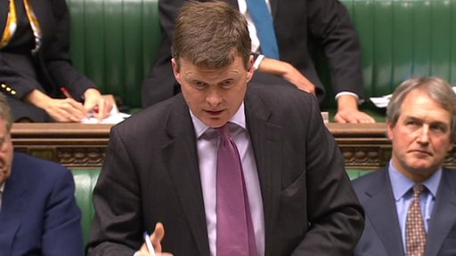 Agriculture Minister Richard Benyon