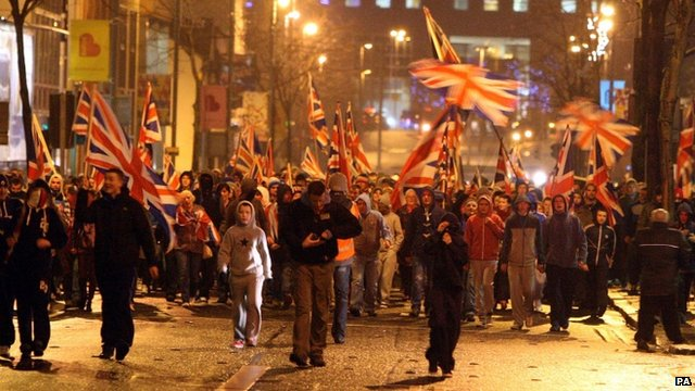 Protests in Northern Ireland