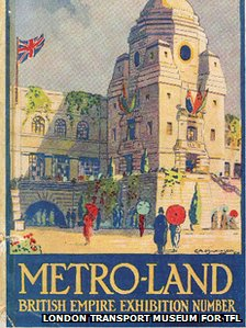Metro-land book cover