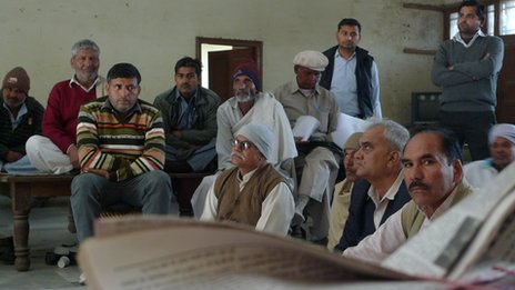 A meeting of elders in Haryana