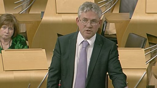 SNP MSP Kenneth Gibson
