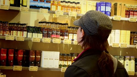 Whisky shopper
