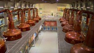 Diageo opened the Roseisle distillery three years ago