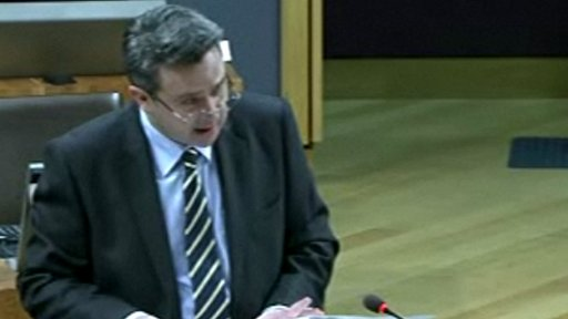 Housing Minister Huw Lewis