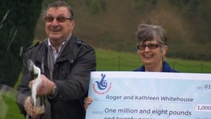 Roger and Kath Whitehouse, Euromillions' winners