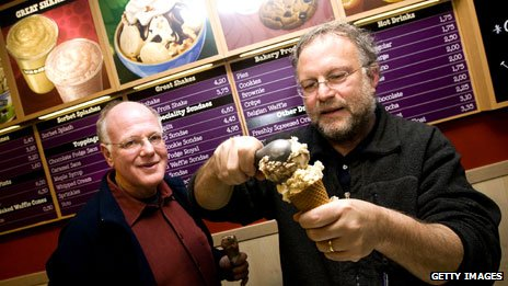 Ben and Jerry of Ben and Jerry's ice cream