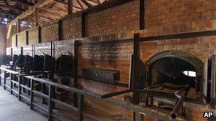 Crematorium furnaces at Majdanek (undated image)