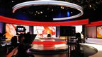 View of the new BBC World News studio