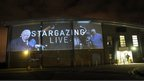 Sir Patrick Moore and Stargazing Live logo