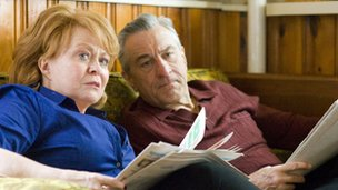Jacki Weaver and Robert De Niro