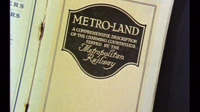 Metro-Land book