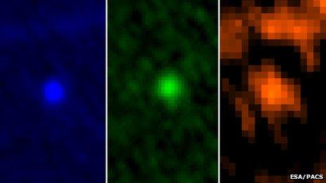 Esa's Herschel Space Observatory image of Apophis