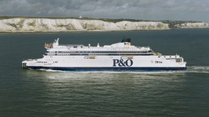 "P&O Ferries ""Spirit of Britain"""