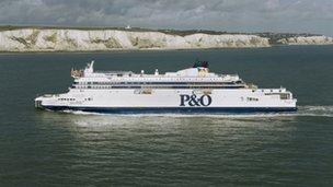 """P&O Ferries """"Spirit of Britain"""""""