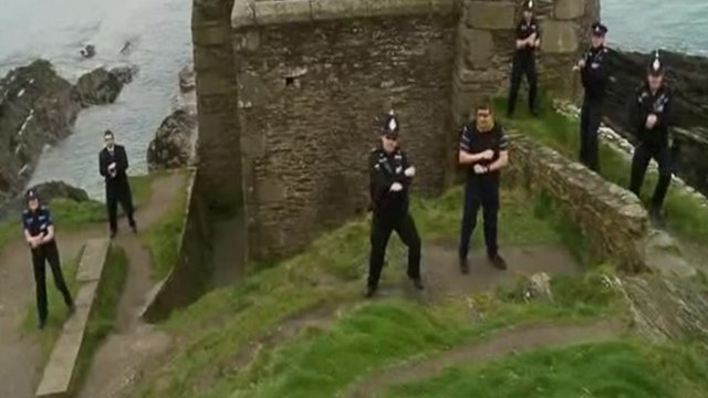 "Devon and Cornwall Police officers in Falmouth ""Gangnam"" video"