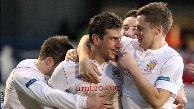 Linfield's Matthew Tipton has been in fine scoring form