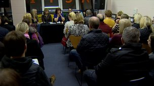 A meeting called for a public inquiry into what happened at Mortonhall