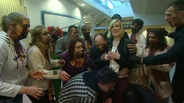 Zombies with Steph McGovern