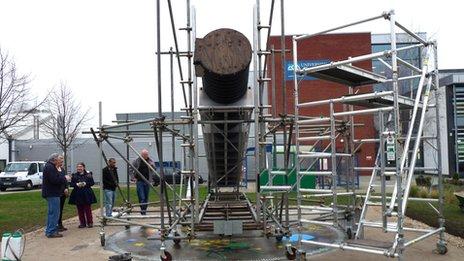 Telescope in Derby
