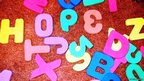 Hope spelt out using a child's toy letters