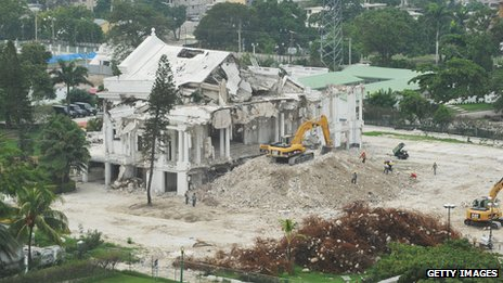 National Palace reconstruction, Haiti