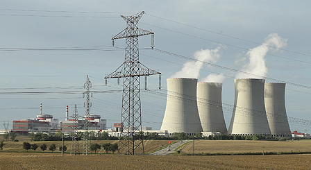 The Temelin nuclear power plant