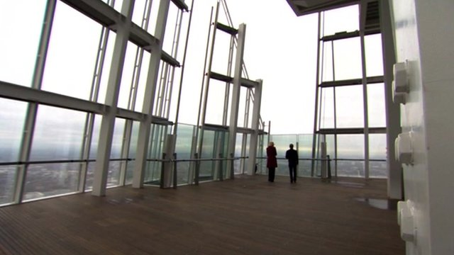 The Shard&#039;s viewing platform