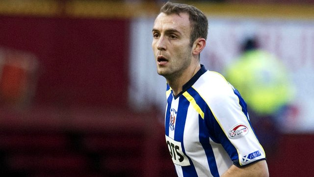 Kilmarnock midfielder Liam Kelly