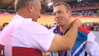 Steve Redgrave and Chris Hoy