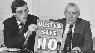 Peter Robinson and Ian Paisley