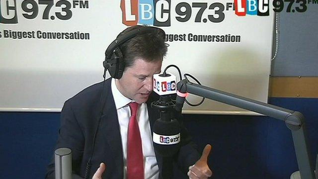 Deputy Prime Minister, Nick Clegg