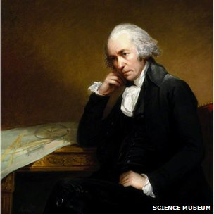 James Watt by Carl Fredrik von Breda